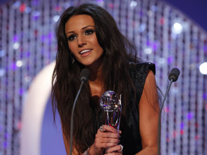 British Soap Awards 2012: Michelle Keegan retains her Sexiest Female crown.