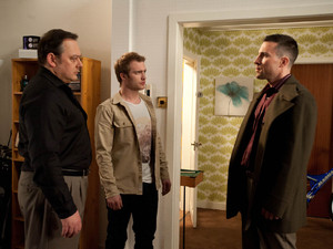 Terry is feeling remorseful, but when the loan shark Rick barges his way into the flat demanding more money, Tommy realises that Terry is in deeper trouble than he originally thought