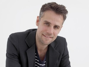 Richard Bacon headshot for 'Hidden Talent' (C4)