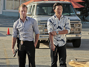 Hawaii 5-0: Scott Caan and Daniel Dae Kim