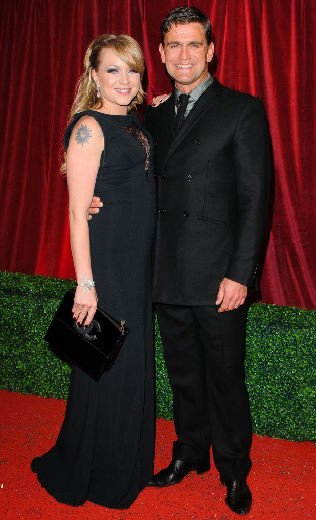 British Soap Awards 2012: Rita Simons and Scott Maslen
