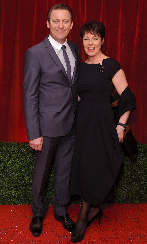 British Soap Awards 2012: Chris Walker and Jan Pearson