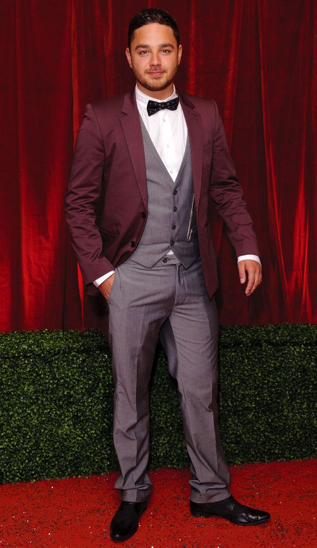British Soap Awards 2012: Adam Thomas