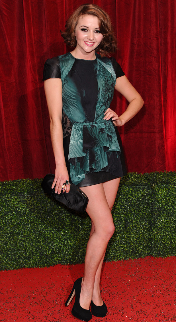 British Soap Awards 2012: EastEnders newcomer Jasmyn Banks