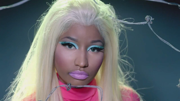 Nicki Minaj: &#39;Beez In The Trap&#39; video still
