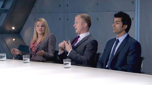 The Apprentice Episode 6 - The Boardroom - Katie Wright, Adam Corbally, Azhar Siddique