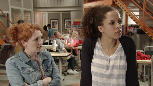 Kirsty opens up to Fiz