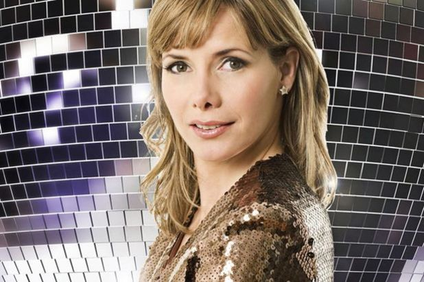 Darcey Bussell promo pic for Strictly Come Dancing 2012