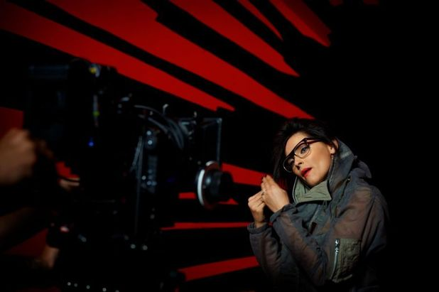 Nelly Furtado Behind the Scenes Photos From New Video 'Big Hoops'