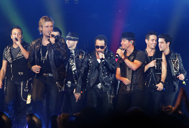 NKOTBSB - New Kids On The Block and The Back Street Boys performing live at Liverpool Echo Arena