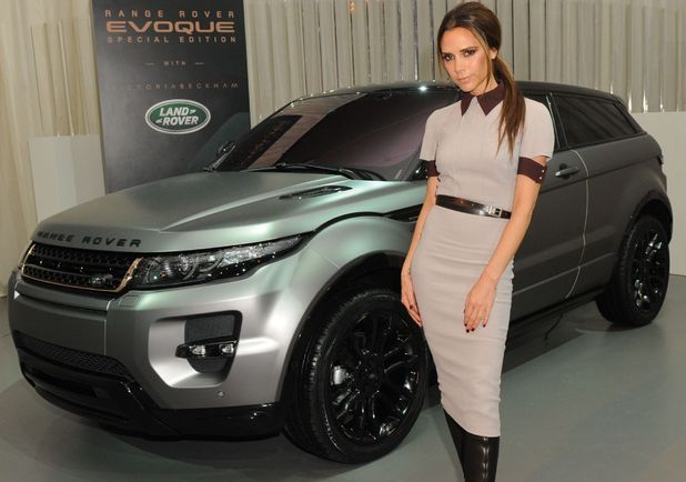 Land Rover launch Range Rover Evoque Special Edition, Afternoon Tea Party with Victoria Beckham