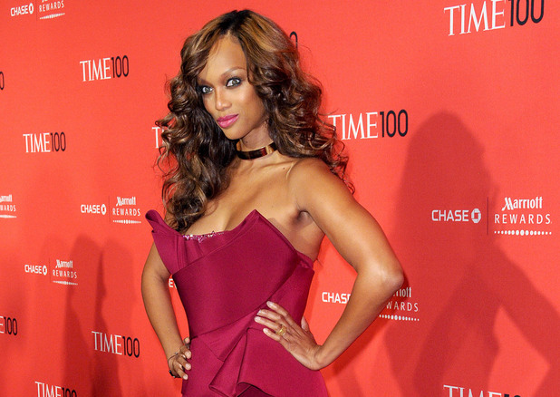 Tyra Banks The Time 100 Gala held at Frederick P. Rose Hall - Inside Arrivals New York City