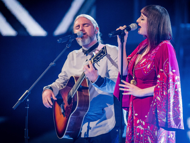 The Voice UK Live Show 1: Matt and Sueleen Fletcher