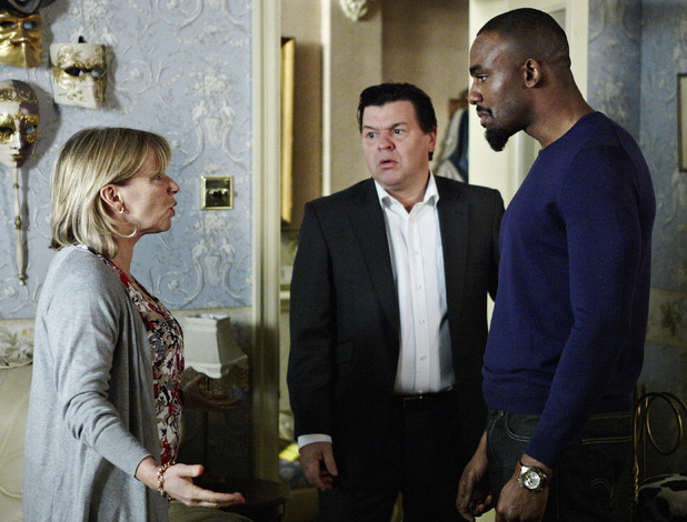 Carol and Ray argue over Morgan's future.