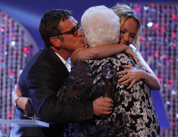 British Soap Awards 2012: The Butcher family reunited.