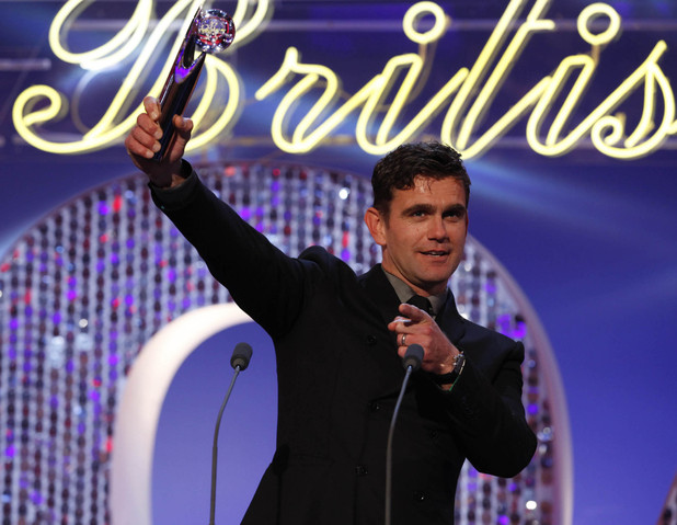 British Soap Awards 2012: Scott Maslen is voted Sexiest Male for the fourth year running.