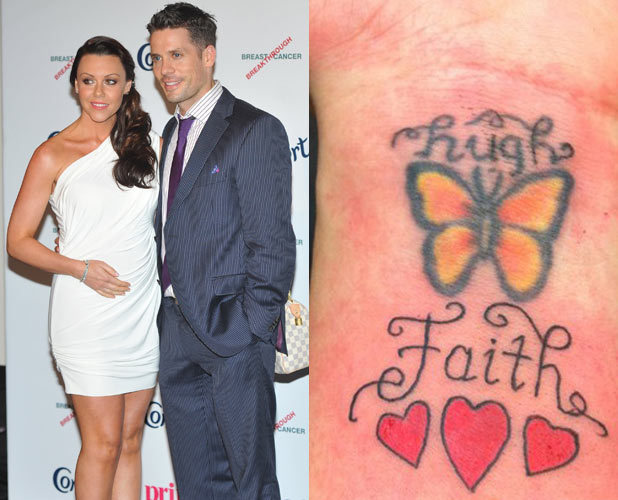 Michelle Heaton and husband Hugh