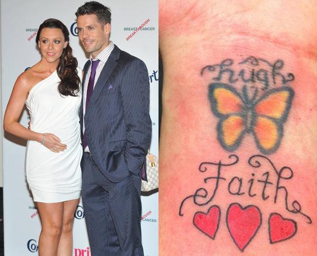 Michelle Heaton and husband Hugh