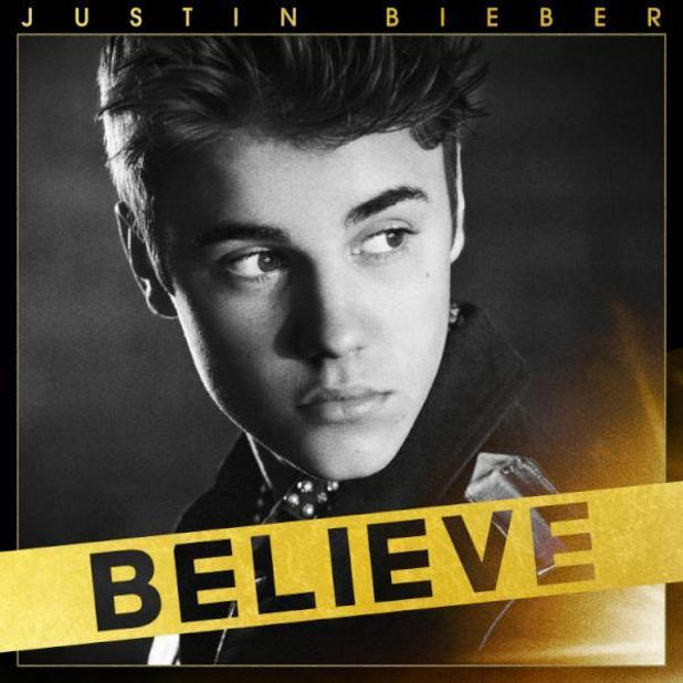 Justin Bieber &#39;Believe&#39; artwork