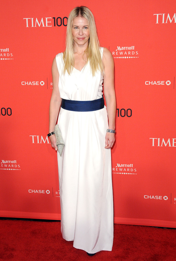 Chelsea Handler The Time 100 Gala held at Frederick P. Rose Hall - Inside Arrivals New York City