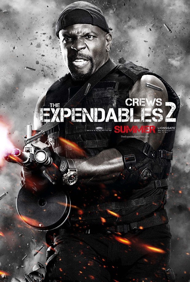 Terry Crews Expendables 2 character poster