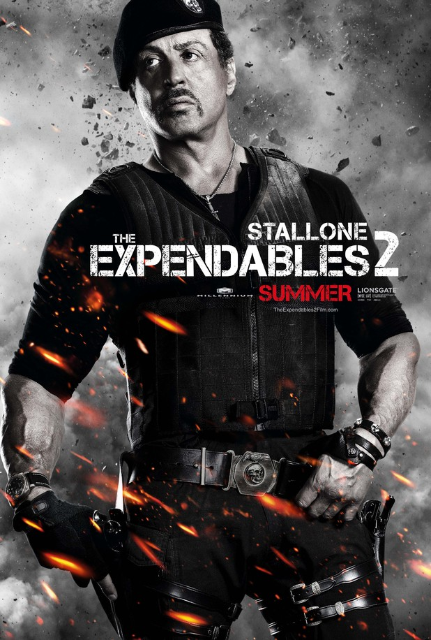 Movies: The Expendables 2 character posters
