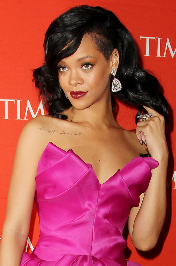 Rihanna attends the Time 100 Most Influential People in the World Gala