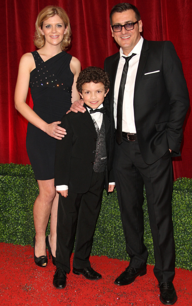 British Soap Awards 2012: Jane Danson, Chris Gascoyne and Alexander Bain