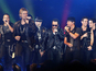 Stagehand claims he suffered a brain injury while working at a NKOTBSB concert.