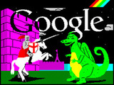 Google St. George's day logo
