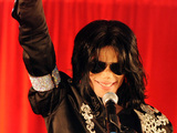 Michael Jackson Press conference and tour announcement held at the O2 Arena London, England