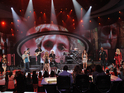 Top 6 American Idol contestants pay tribute to band during latest performances.