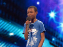 A 9-year-old hopeful has an emotional moment on tonight's auditions show.