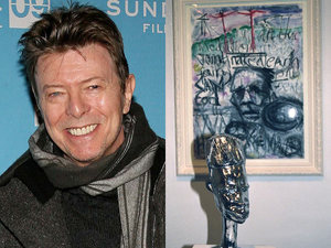 David Bowie, art