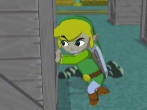 Legend of Zelda: The Wind Waker on the Nintendo GameCube