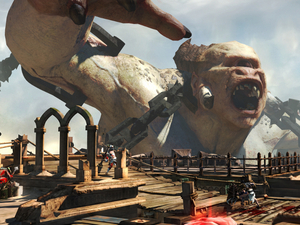 The first screenshots of &#39;God of War: Ascension&#39;