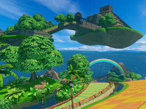 &#39;Sonic & All-Stars Racing Transformed&#39; screenshot