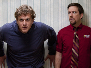 Jason Segel, Ed Helms in Jeff Who Lives at Home