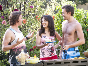 Neighbours Opening Titles: Lucas, Vanessa and Rhys