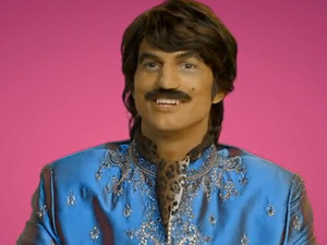 Ashton Kutcher as &#39;Raj&#39;