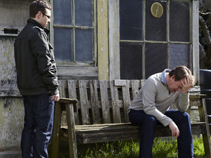 Ben finds Ian at the allotments.
