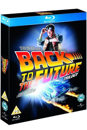 &#39;Back to the Future&#39; trilogy: Blu-ray box set