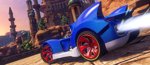 'Sonic & All-Stars Racing Transformed' screenshot