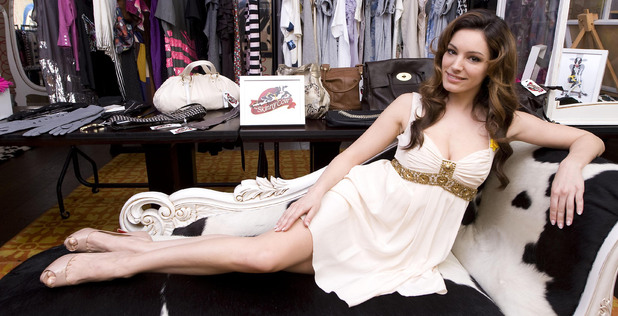 Kelly Brook - 'Skinny Cow' charity swap shop, London - March 20, 2010