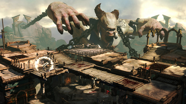 The first screenshots of 'God of War: Ascension'