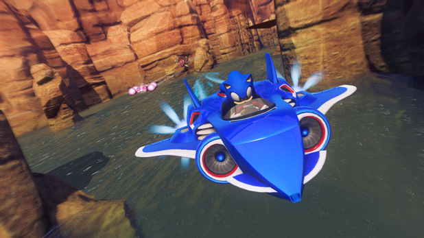 'Sonic & All-Stars Racing Transformed' screenshot