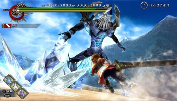 &#39;Ragnarok Odyssey&#39; screenshot