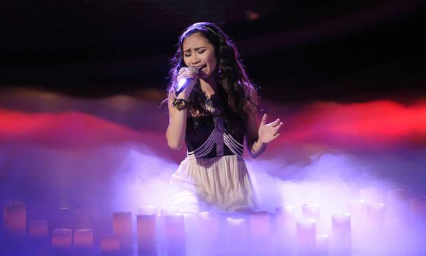 'American Idol': Season 11's Top 5 - Jessica Sanchez performs