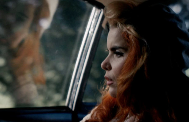 Screenshot from Paloma Faith BTS video