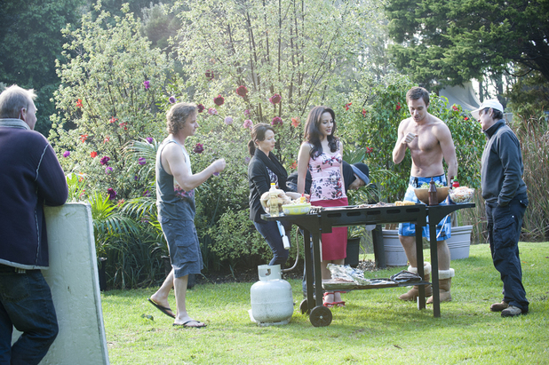 Neighbours: Opening Titles - On set pictures